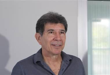Evaristo Coronado, gerente deportivo del Saprissa.|Fernando Araya