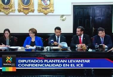 Proyecto pretende modificar la ley que protege la confidencialidad de las inversiones y negocios en el ICE