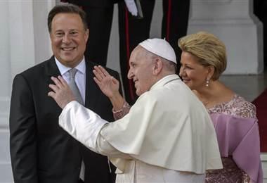 Papa Francisco durante su visita a Panamá |AFP.