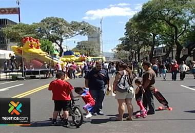 Regresan los domingos familiares sin humo al Paseo Colón