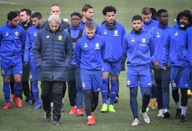 Equipo de Nantes afectado por la desaparición de Emiliano Sala-AFP