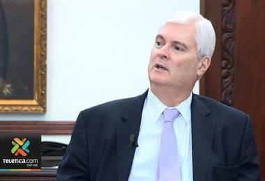 Canciller Manuel Ventura: 'La decisión está tomada, no reconocemos a Nicolás Maduro'