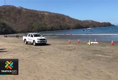 Autoridades identificaron a la persona ahogada en el sector de playa Hermosa en Guanacaste