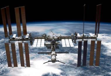 Estación Espacial Internacional. AFP.