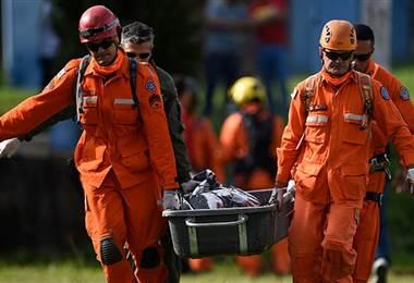 Roptura de dique en Brasil. BBC Mundo.