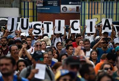 Venezuela, protestas. AFP.
