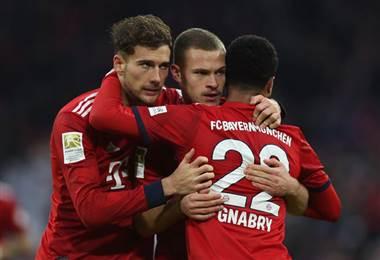 El equipo alemán del Bayern Munich |UEFA Champions League.