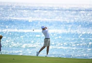 El golfista costarricense Luis Gagne |Prensa CON.