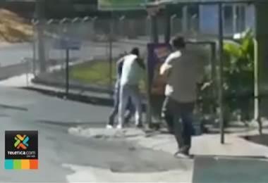 Ocho personas son detenidas al día por estar involucradas en peleas en vía pública.