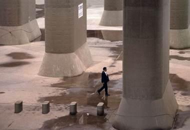 El sofisticado sistema de drenaje de Tokio es un ejemplo. BBC