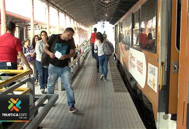 Servicio de tren a Cartago redujo su capacidad de traslados por daños