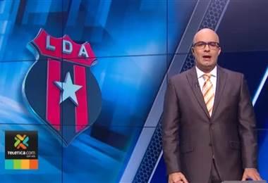 Luis Diego Arnáez afirma que se va tranquilo de Alajuelense y sin resentimientos
