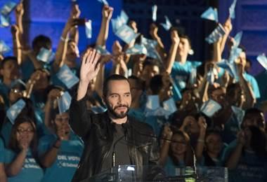Nayib Bukele. Elecciones. El Salvador.AFP.