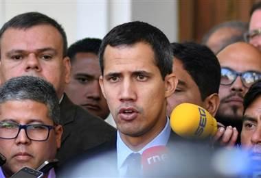 Líder opositor Juan Guaidó denuncia intimidación