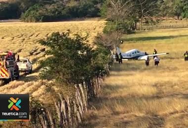 Autoridades investigan caída de avioneta en Guanacaste