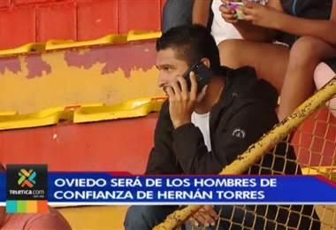 Oviedo asume con orgullo su nuevo cargo en Alajuelense