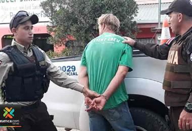 Policía de Fronteras detuvo a prófugo de la justicia estadounidense