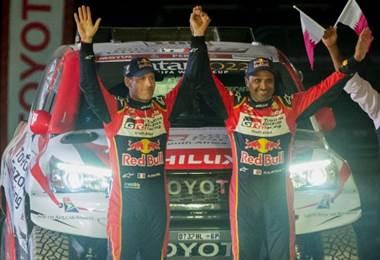Al-Attiyah gana la primera etapa de autos del Rally Dakar.|AFP