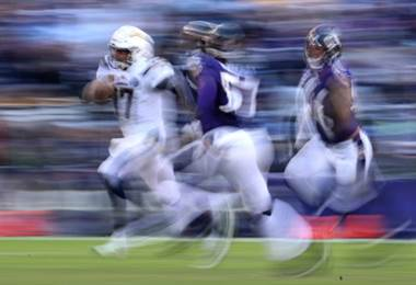 Chargers ante Ravens.|AFP