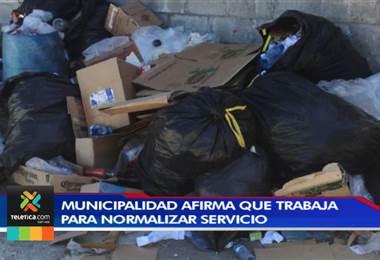 Vecinos de Santa Cruz de Guanacaste denuncian la falta de recolección de basura