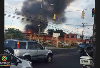 Incendio Calle Blancos