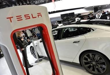 Tesla. AFP