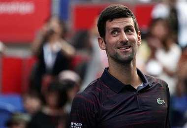 Djokovic regresa con victoria en la primera ronda de Tokio | AFP