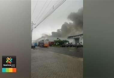 Incendio en Alajuela