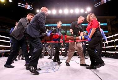 Boxeador Patrick Day fue hospitalizado | AFP