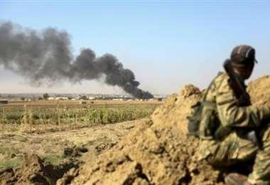Fuerzas turcas toman ciudad siria de Tal Abyad