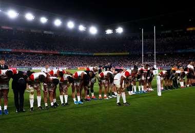 Japón hace historia en el Mundial de Rugby | AFP