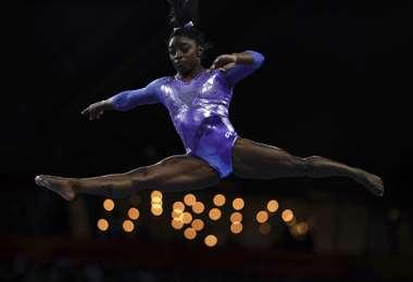 Simone Biles logró 25 medallas en el Mundial | AFP