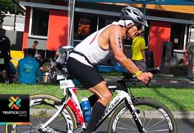 Atleta costarricense de 70 años logró terminar este sábado el Ironman de Kona, Hawái