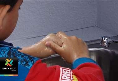 Campaña en el centro de San José busca hacer conciencia sobre el lavado de manos