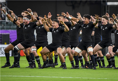 All Blacks en el Mundial de rugby en Japón   AFP
