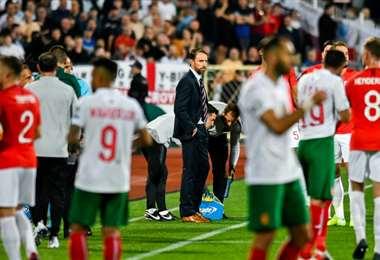 El juego Bulgaria-Inglaterra tuvo insultos racistas | AFP