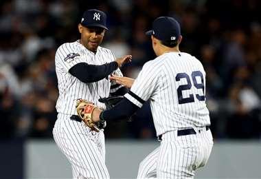 Yankees vencen a Astros - AFP