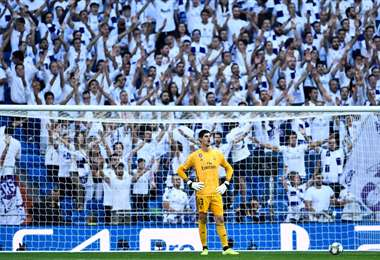 Thibaut Courtois del Real Madrid   AFP