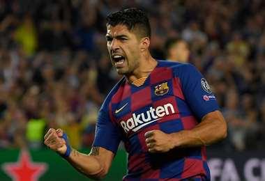 Luis Suárez le dio el triunfo al Barcelona | AFP