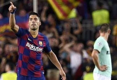 Luis Suárez, delantero del Barcelona | UEFA Champions League