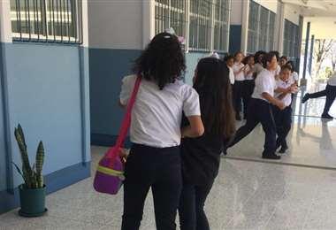 Estudiantes de escuela