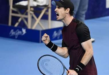 Andy Murray celebra su triunfo | AFP