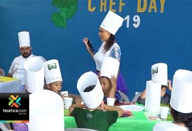 Para celebrar el Día del Chef varias organizaciones se unieron en taller sobre hábitos de alimentación