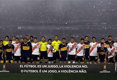 River Plate y Boca Juniors disputarán las semifinales de Libertadores  AFP