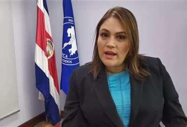 Dra Priscilla Herrera, Directora General de Salud
