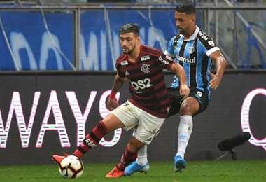 Flamengo y Gremio se enfrentaron en la semifinal de la Copa Libertadores | AFP