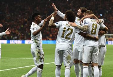 El Real Madrid venció al Galatasaray   UEFA.COM