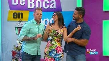 Monserrat del Castillo anuncia en 'De Boca en Boca' que pronto será mamá
