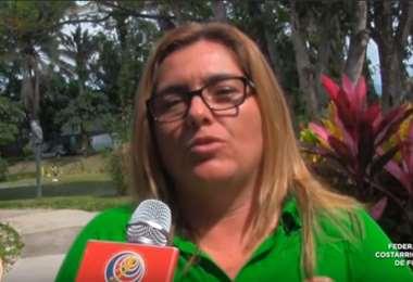 Patricia Miranda, instructora de arbitraje | Youtube Fedefútbol