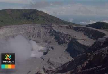CNE actualizó los mapas de peligros volcánicos en parque nacional Volcán Poás